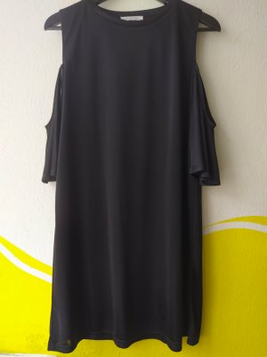 Trafaluc by Zara Off-The-Shoulder Dress black