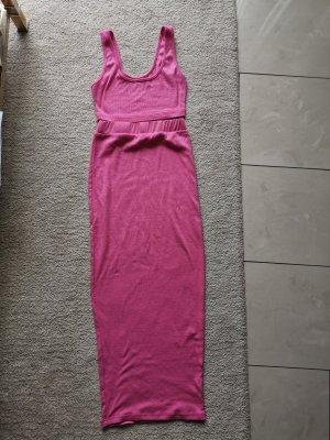 Twin set in maglia rosa