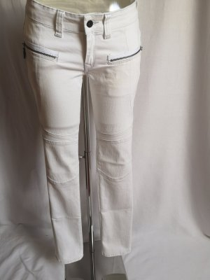 Firetrap Wortel jeans wit-lichtgrijs
