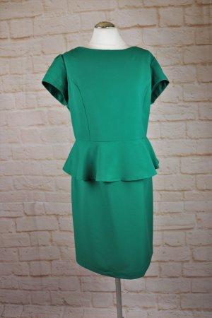 Vestito peplo verde