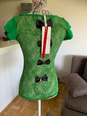 SexY Spitzen-Shirt/Top - Green - Rückenfrei - Größe S/M 34/36 - NEW!