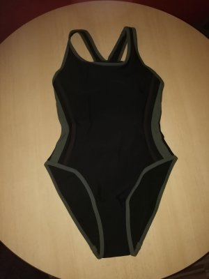 Swimsuit black-olive green