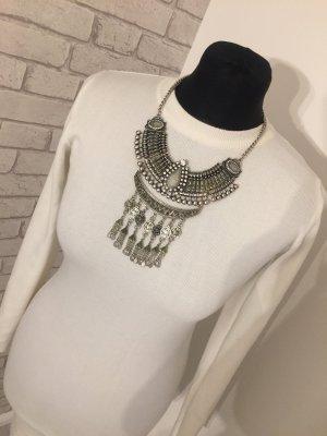 Vestido de tubo blanco puro-crema