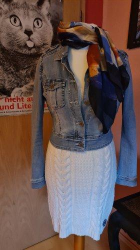 Gaastra Robe en maille tricotées blanc cassé
