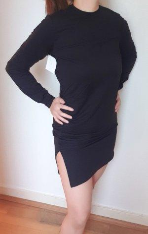 Sexy Sweatkleid mit Schlitz Gr. S/M