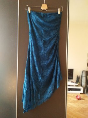 andere Marke Robe épaules nues bleu cadet