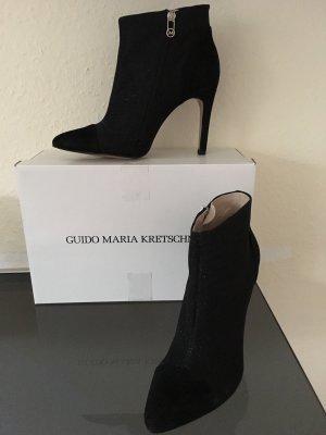 Sexy Veloursleder High Heels Stiefelette Gr40 von GMK