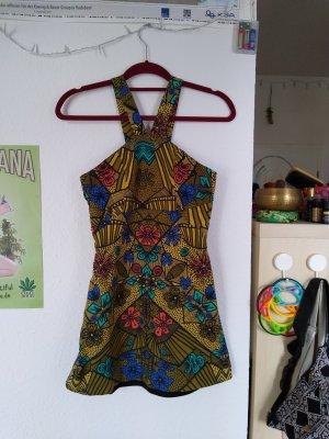 Sexy Vintage Kleid mit psychedelischen Muster