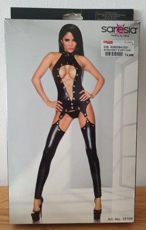 Saresia Ensemble de lingerie noir polyester