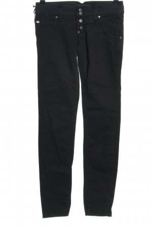Sexy Woman Five-Pocket-Hose schwarz Casual-Look