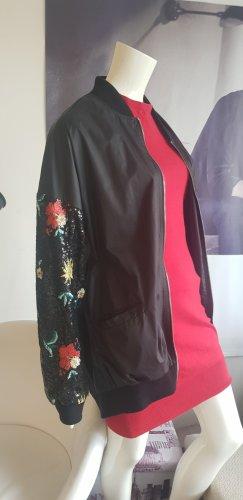 Sexy Woman longjacket Parka indoor sisley Kleid small