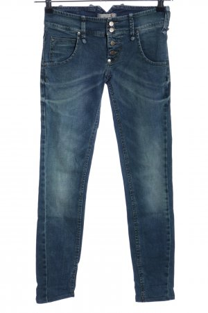Sexy Woman Skinny Jeans blau Casual-Look