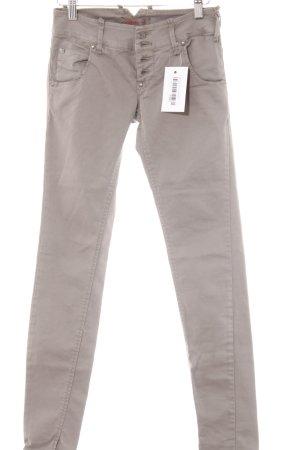 Sexy Woman Skinny Jeans graubraun Casual-Look