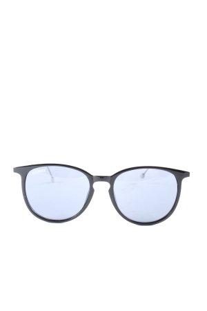 seymour Glasses black-silver-colored casual look