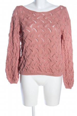Sezane Grobstrickpullover pink Casual-Look