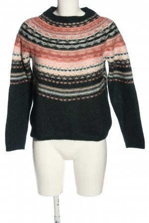 Sezane Coarse Knitted Sweater graphic pattern casual look