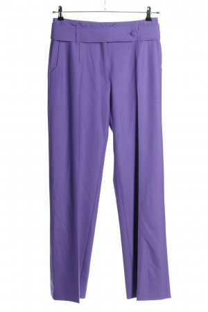 Sezane High Waist Trousers lilac casual look