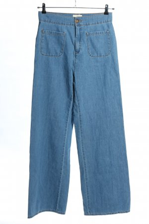 Sezane High Waist Jeans blau Casual-Look