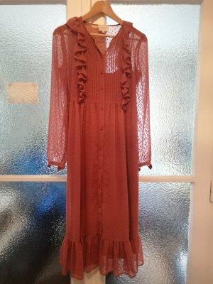 Sezane Midi Dress multicolored