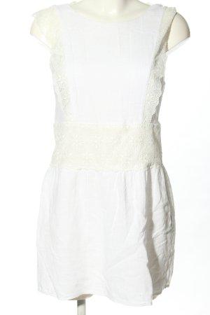 Sezane Mini Dress white casual look