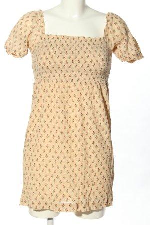 Sezane Mini Dress allover print casual look