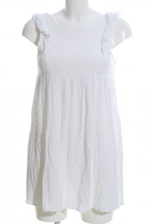 Sezane Minikleid weiß Casual-Look