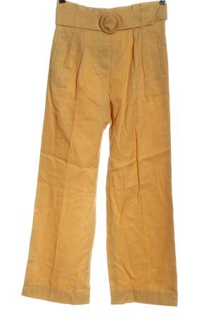 Sezane Pantalón de pinza amarillo pálido estilo «business»
