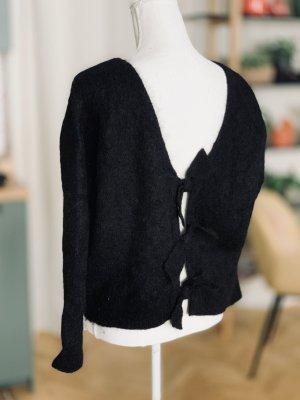 Sezane Jersey de lana negro