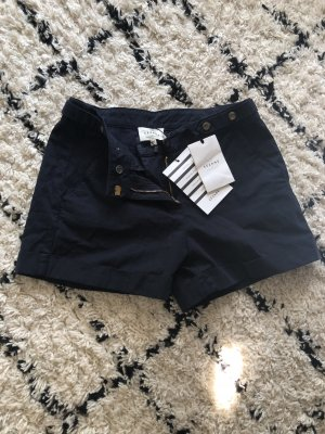 Sezane Shorts blu scuro