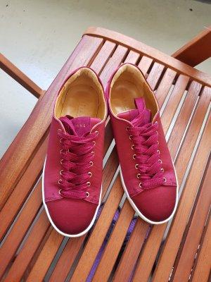 Sezane Sneakers Burgunderrot, Gr. 36