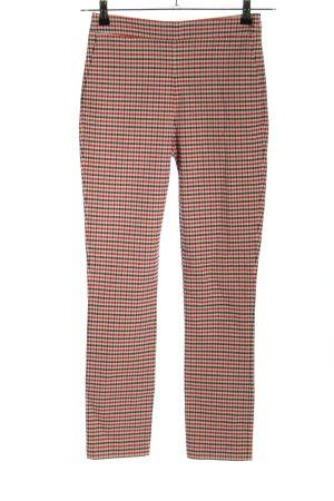 Sezane Pantalon strech motif à carreaux style décontracté