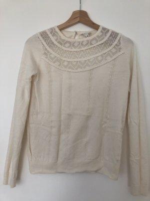 Sezane White Sweater XS