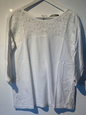 Sfera 3/4-Shirt Spitze weiß