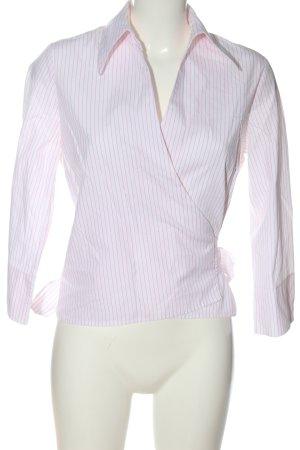 Sfera Shirt Blouse pink-white striped pattern casual look