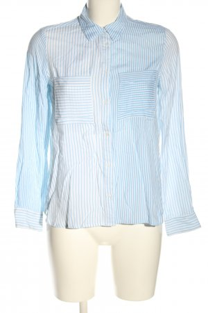 Sfera Long Sleeve Shirt white-blue allover print casual look