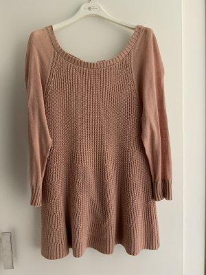 Sfera Long Sweater dusky pink-nude