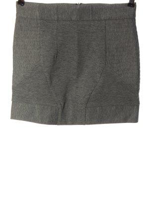 Sfera Minigonna grigio chiaro puntinato stile casual