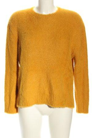Sfera Crewneck Sweater light orange casual look