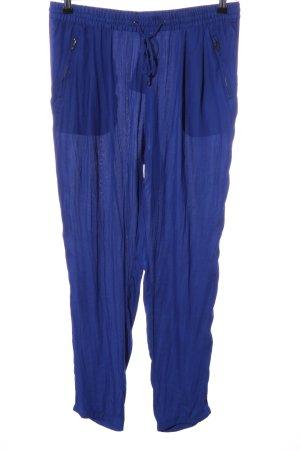 Sfera Stoffhose blau Casual-Look