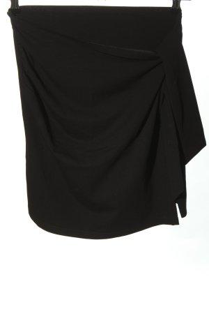SH Wraparound Skirt black casual look
