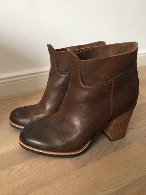 Shabbies Amsterdam Ankle Boots, braun