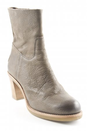 Shabbies amsterdam Booties khaki Casual-Look
