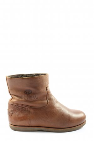 Shabbies amsterdam Slouch Booties brown casual look