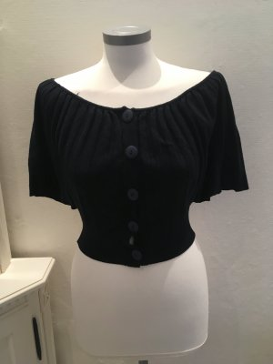Shake Knitted Bolero dark blue-blue mixture fibre