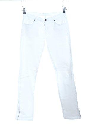 shakira Pantalone cinque tasche bianco stile casual