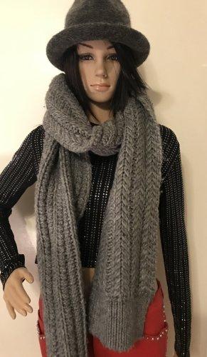 Blue Strenesse Wollen sjaal grijs-donkergrijs Wol