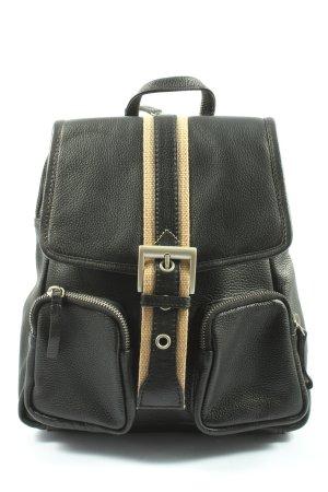Shalimar Mały plecak czarny-kremowy W stylu casual