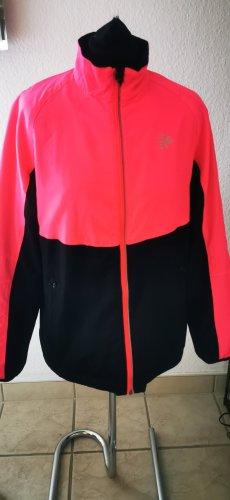 Shamp Trainingsjacke Jacke Sportjacke  pink schwarz  Gr M  neuwertig