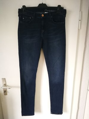 & DENIM Stretch jeans leigrijs