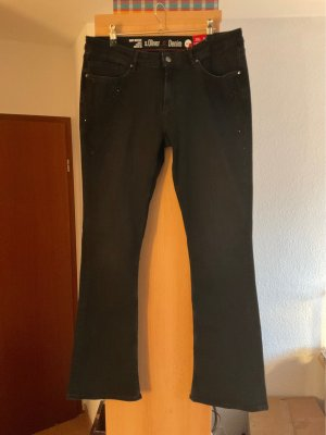 Shaping Jeans, Funkelsteine an den Seiten, Gr. 44 / 34